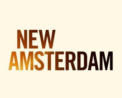 Poster della nuova stagione di New Amsterdam